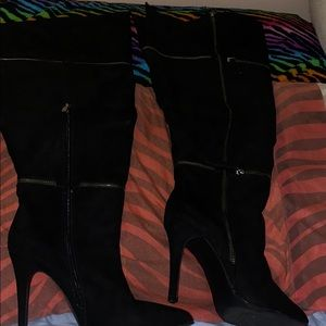 Ashley Stewart Shoes - Thigh High Boots
